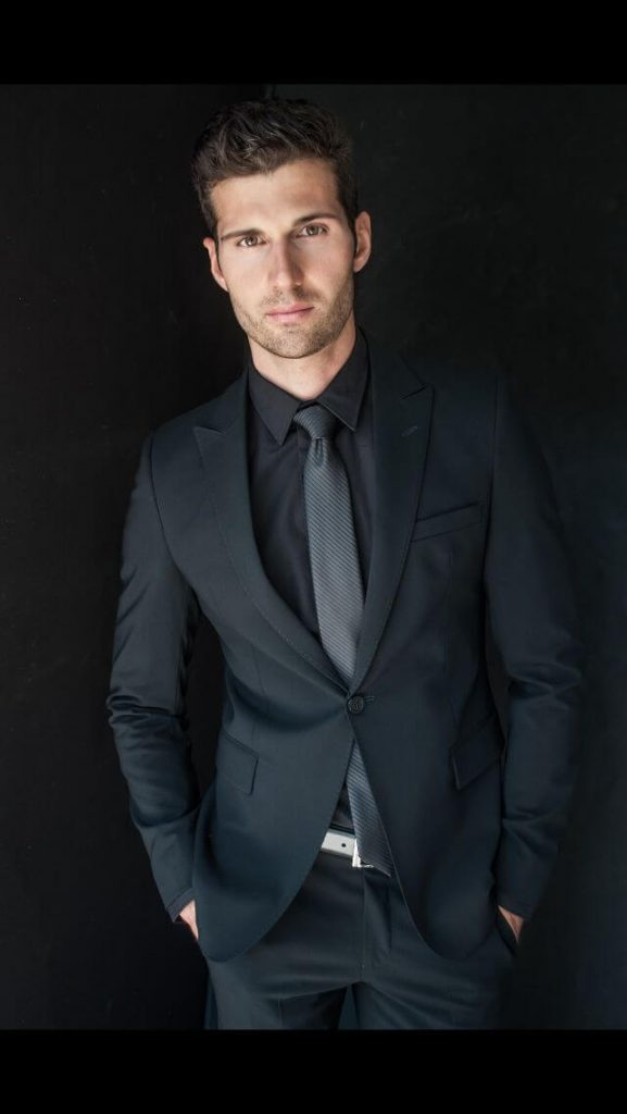 for Black shirt and tie combinations