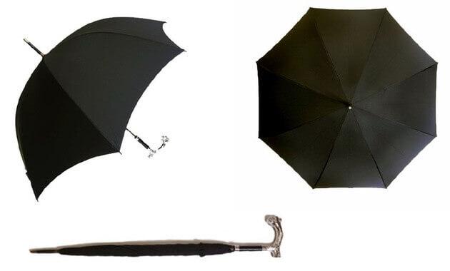 (フォックスアンブレラズ) FOX UMBRELLAS傘 メンズ BULLDOG HEAD(ブルドッグ) GT29 Style アニマルヘッドハンドル