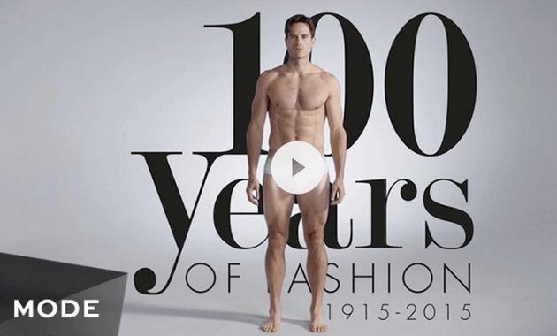 メンズファッションの歴史動画