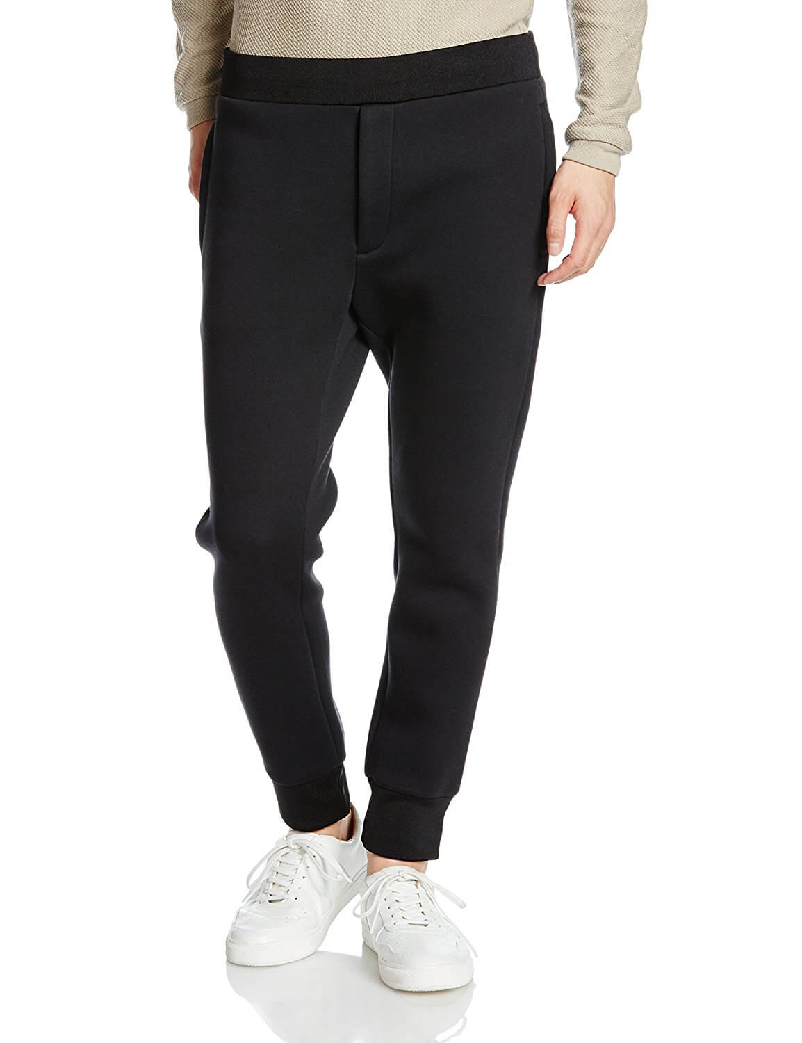 BLACKBARRETT by Neil Barrett FUSED TERRY SWEATPANTS