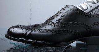 革靴雨対策