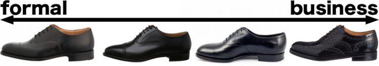 革靴フォーマルとビジネス