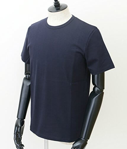 ACNE STUDIOSのネイビーTシャツ,アクネストゥディオス