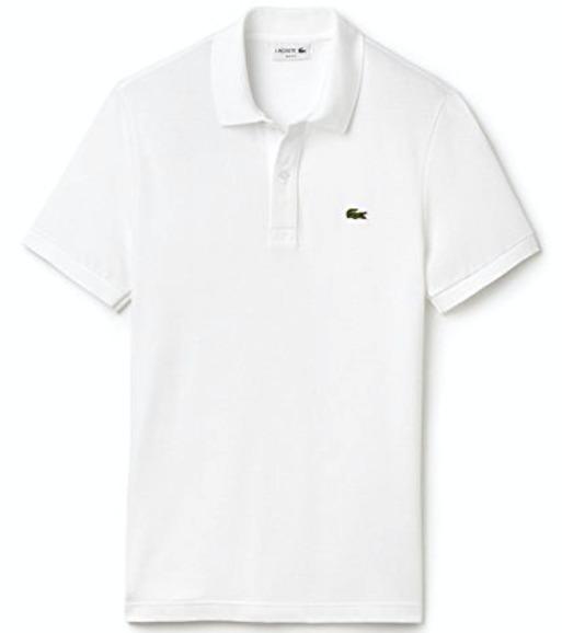 ポロシャツ,ラコステ白