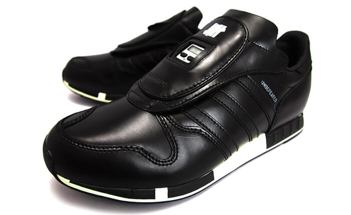 ADIDAS x NEIGHBORHOOD x UNDEFEATED MENS ADIDAS ORIGINALS Consortium MICROPACER UNDEFEATED x NEIGHBORHOOD BLACK/CHALK/BLACK アディダス マイクロペーサー