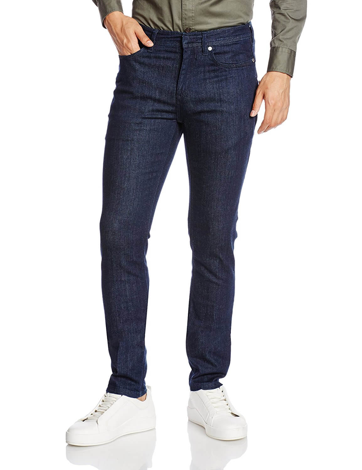 Neil Barrett A805T SUPER SKINNY CLASSIC STRETCH BLUE DENIM