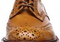 [トリッカーズ] Tricker's Tricker's Full Brogue Derby Shoe / BURTON - Calf - (Double Leather Sole)