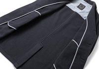 (トネッロ)TONELLO ウールナイロンカシミヤライトメルトン3Bチェスターコート『T-JACKET』 (ダークネイビー)メンズ
