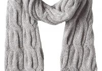 INVERALLAN scarf Cable Lambswool