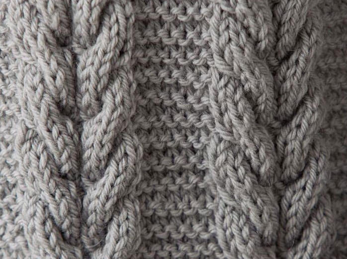 ケーブル cable knitting stitch