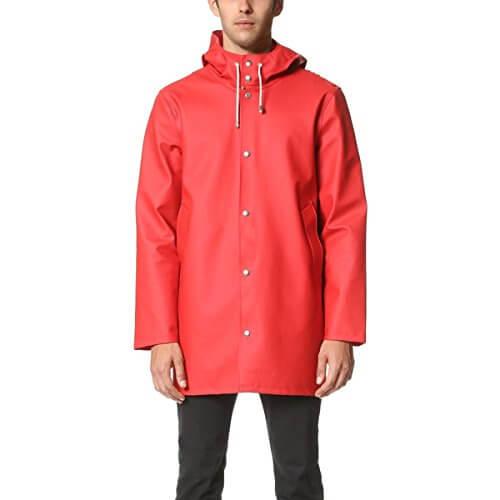 Stutterheim メンズ アウター コート Stockholm Raincoat