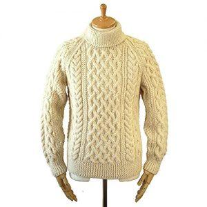 INVERALLAN 1A タートルネック セーター ネイビー