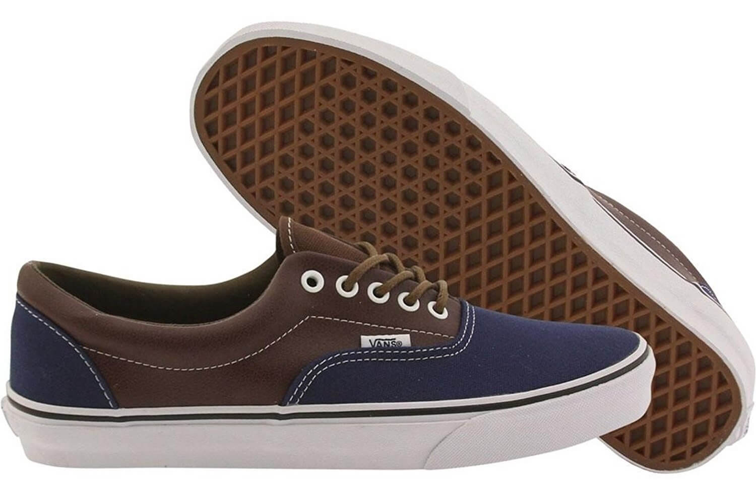 Vans Men Era - Leather Plaid