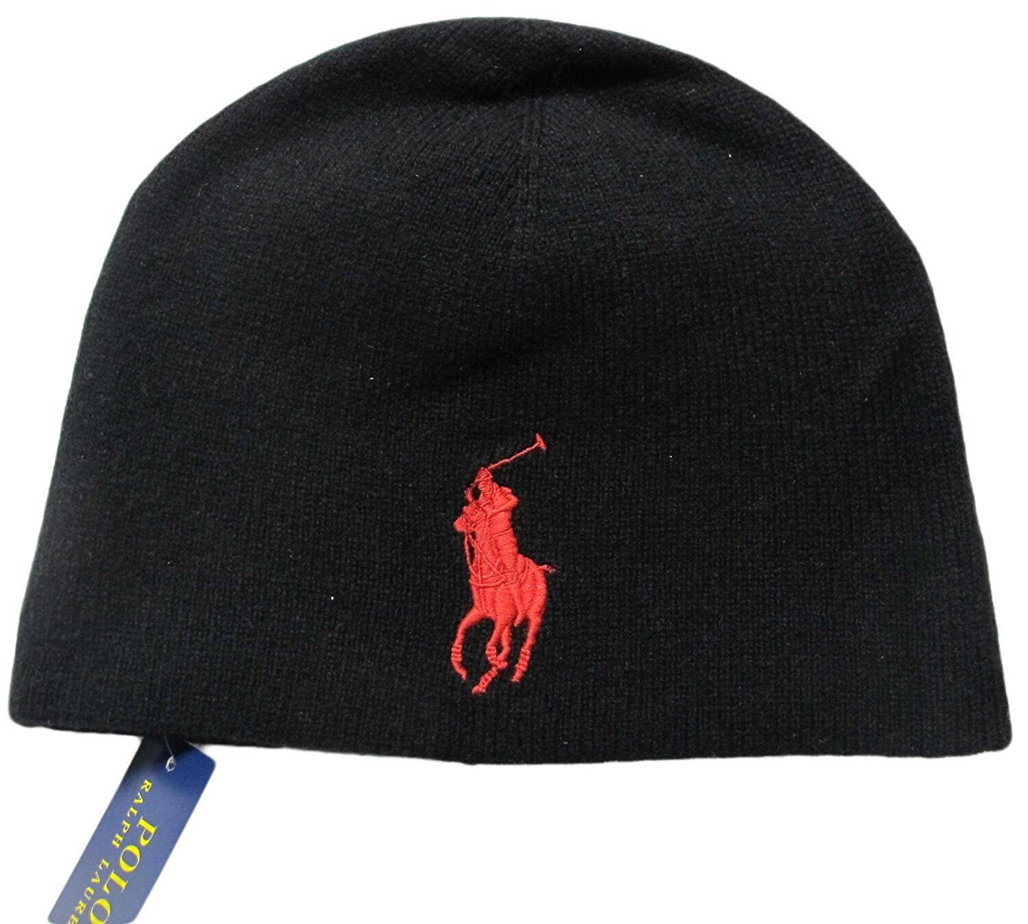 POLO RALPH LAUREN ニット帽 Big Pony Merino Wool Cap