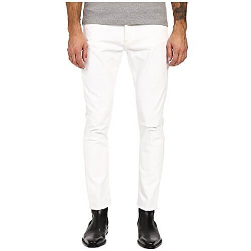 The Kooples(ザ クープルス) White Denim Pants White