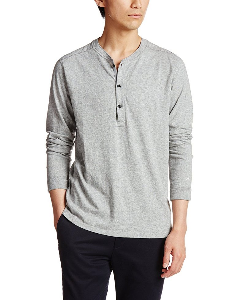 rag & bone(ラグ & ボーン) PERFECT JERSEY HENLEY Tシャツ