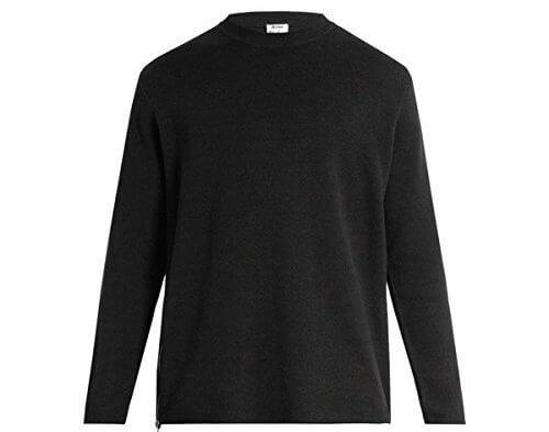 Acne Studios(アクネ ストゥディオズ)  セーター Kicha side-zip wool-blend