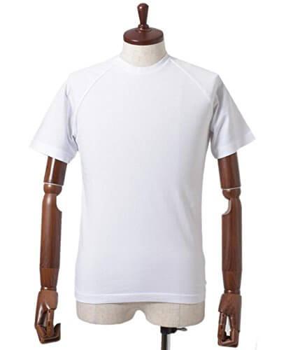 ASPESI(アスペジ) ラグランスリーブ クルーネック Tシャツ