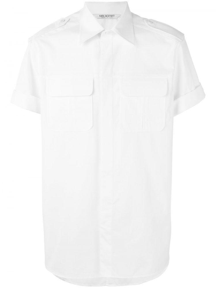 NEIL BARRETT半袖シャツ