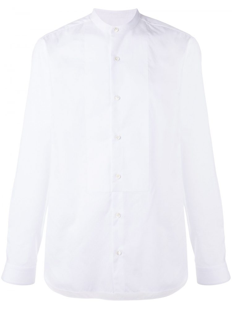 Z ZEGNA(ジーゼニア)バンドカラーシャツ