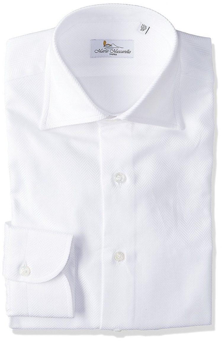 MARIO MUSUCARIELLO(マリオ ムスカリエッロ) ドレスシャツ