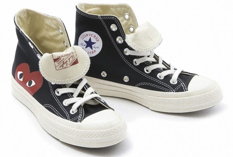 COMME des GARCONS PLAY(コムデギャルソン プレイ) × CONVERSE