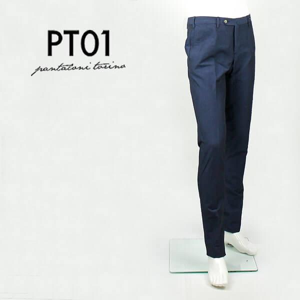 PT01(ピーティーゼロウーノ) コットンリネントラウザーズ BUSINESS EVO FIT