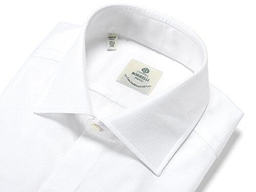 """<LUIGI BORRELLI(ルイジボレッリ) セミワイドカラーシャツの最高傑作""""LUCIANO"""">"""