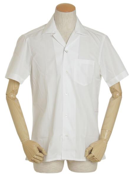 BARBA(バルバ) 半袖開襟シャツ