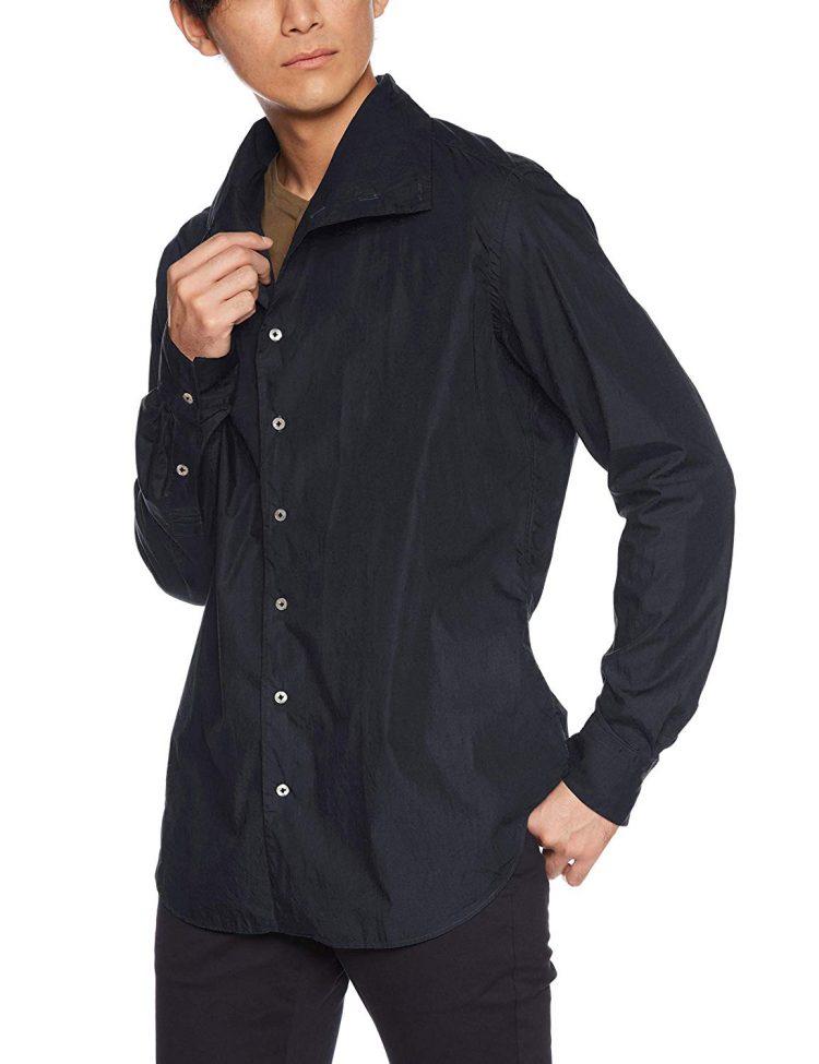 Bagutta(バグッタ)タートルネックシャツ メンズ