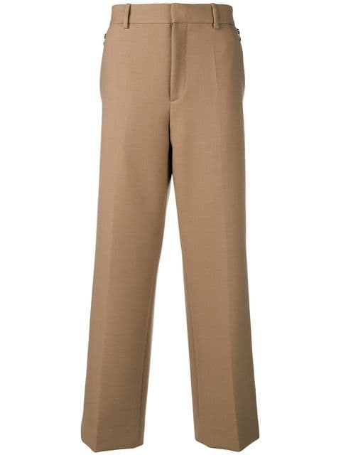 OAMC(オーエーエムシー)wide-leg pleated trousers