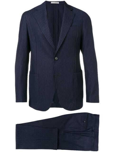 0909(ゼロナインゼロナイン)two piece striped suit