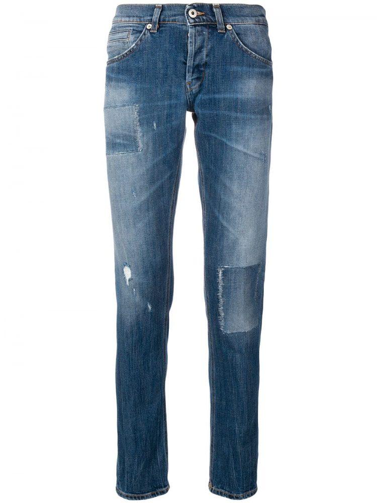 DONDUP(ドンダップ)classic slim-fit jeans