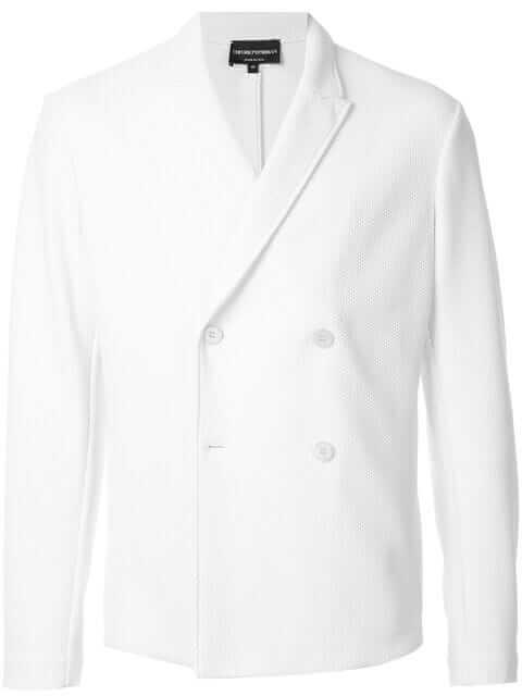 EMPORIO ARMANI(エンポリオアルマーニ)白ジャケット