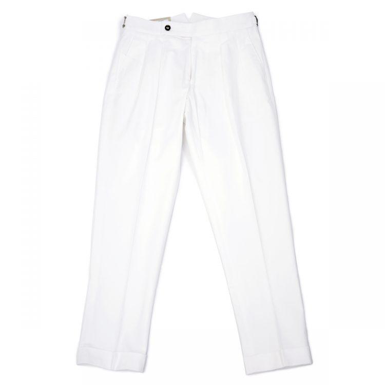 Berwich(ベルウィッチ) サイドアジャスター付き 白パンツ