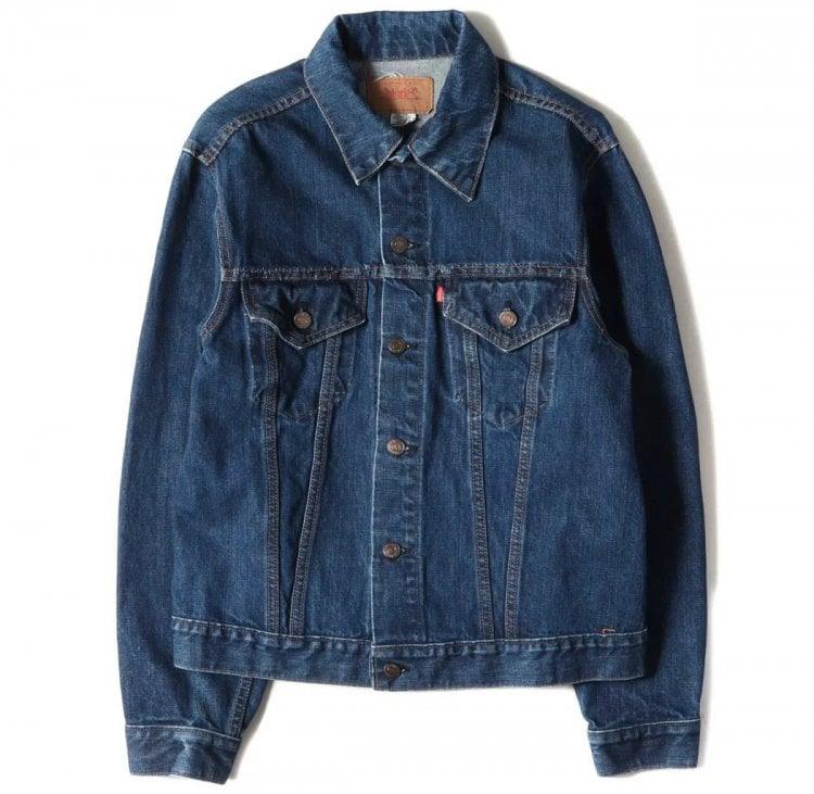 ④4thタイプのデニムジャケット