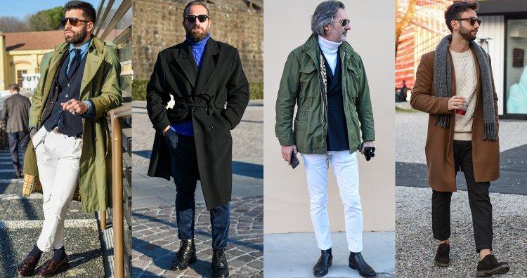メンズの秋冬アウターを選ぶ際のポイントと着こなしのコツとは?